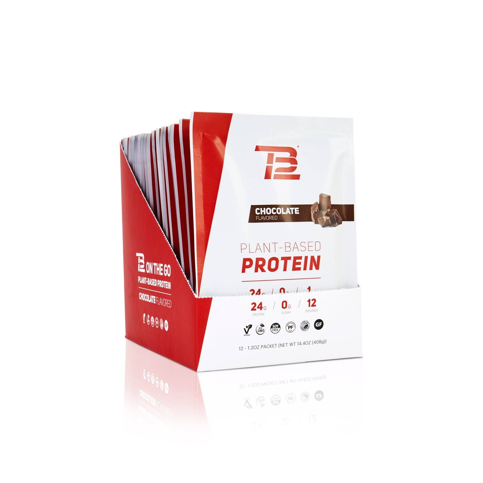 TB12™ Plant-Based Protein (12ct) - Chocolate
