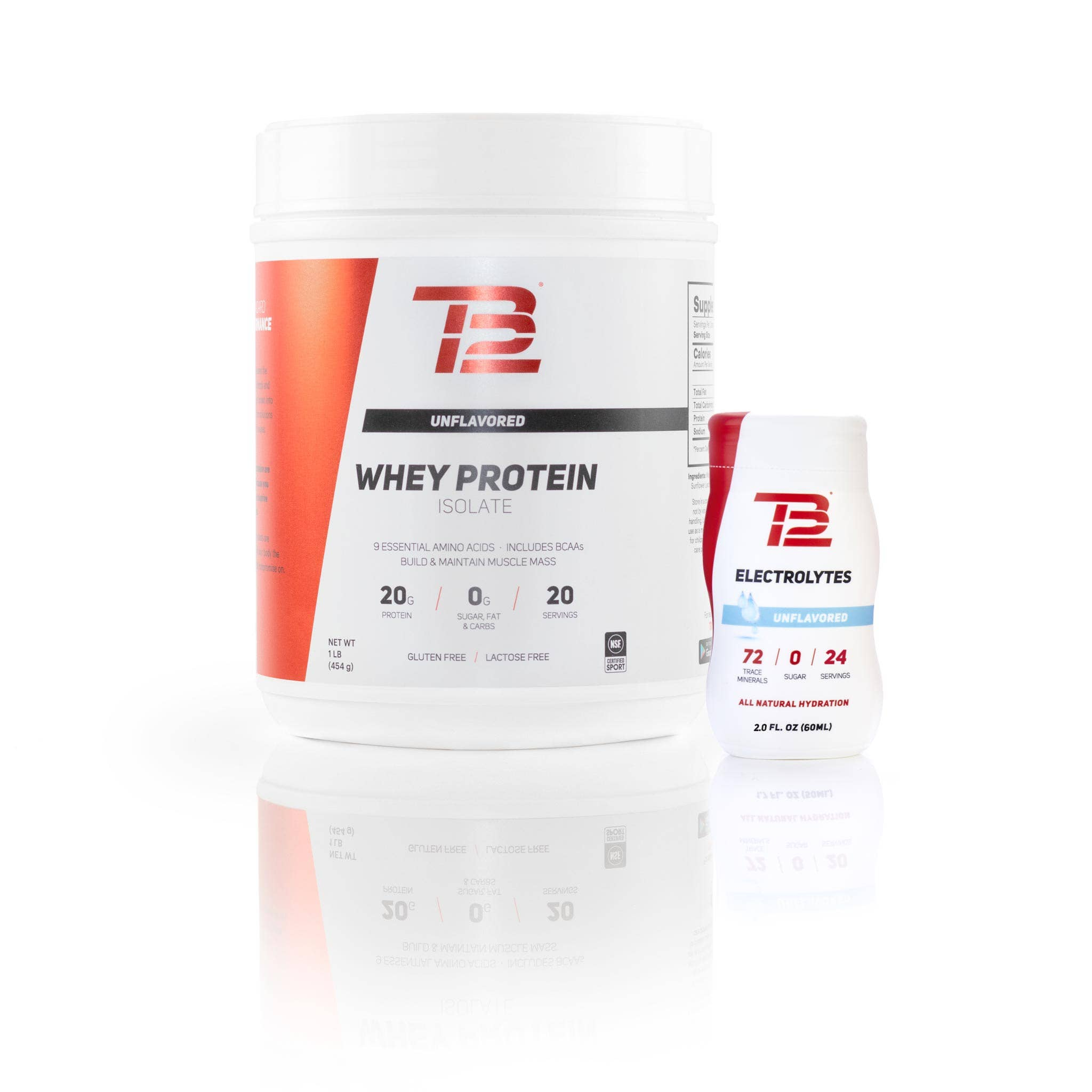 TB12™ Electrolytes and Whey Protein Isolate Bundle