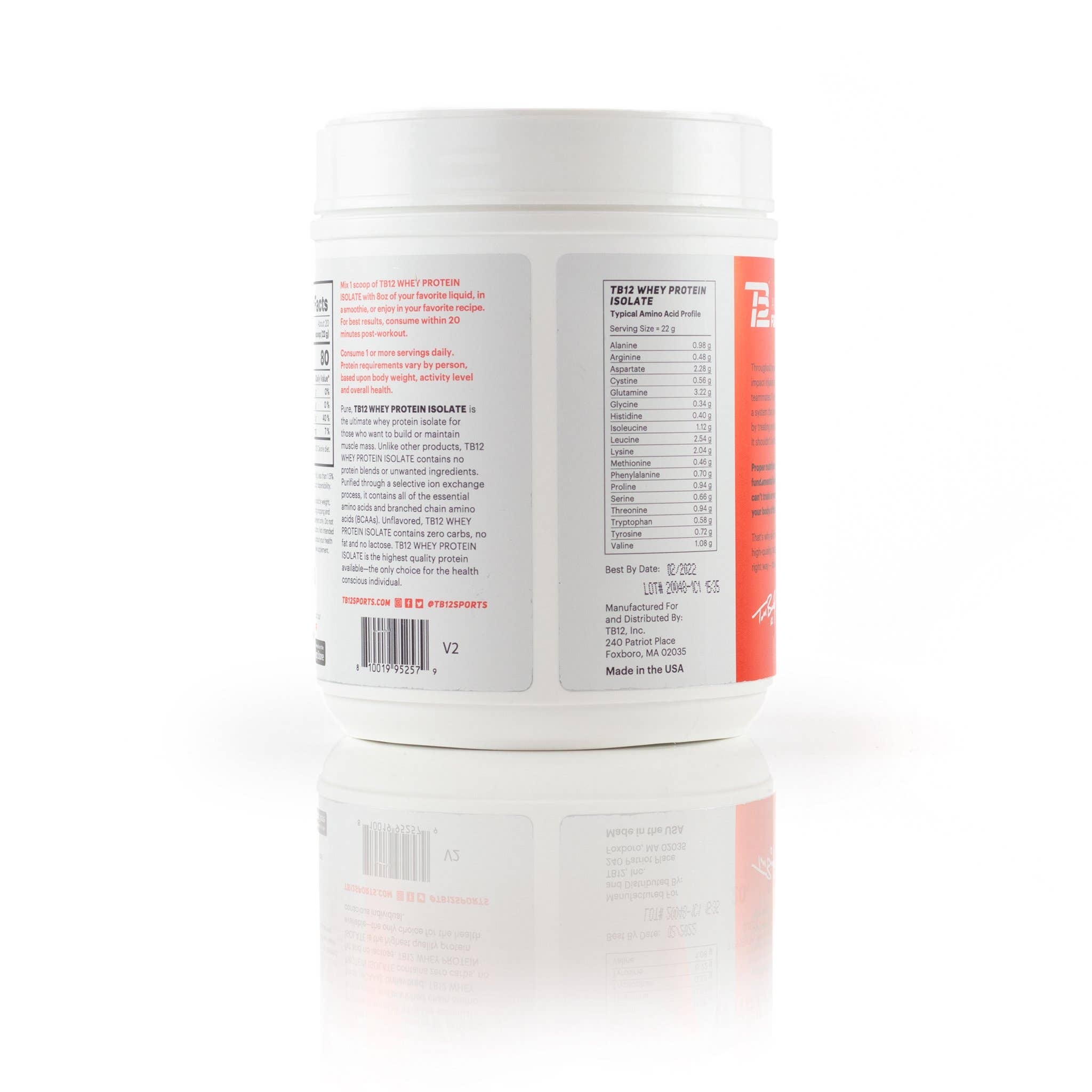 TB12™  Whey Protein Isolate