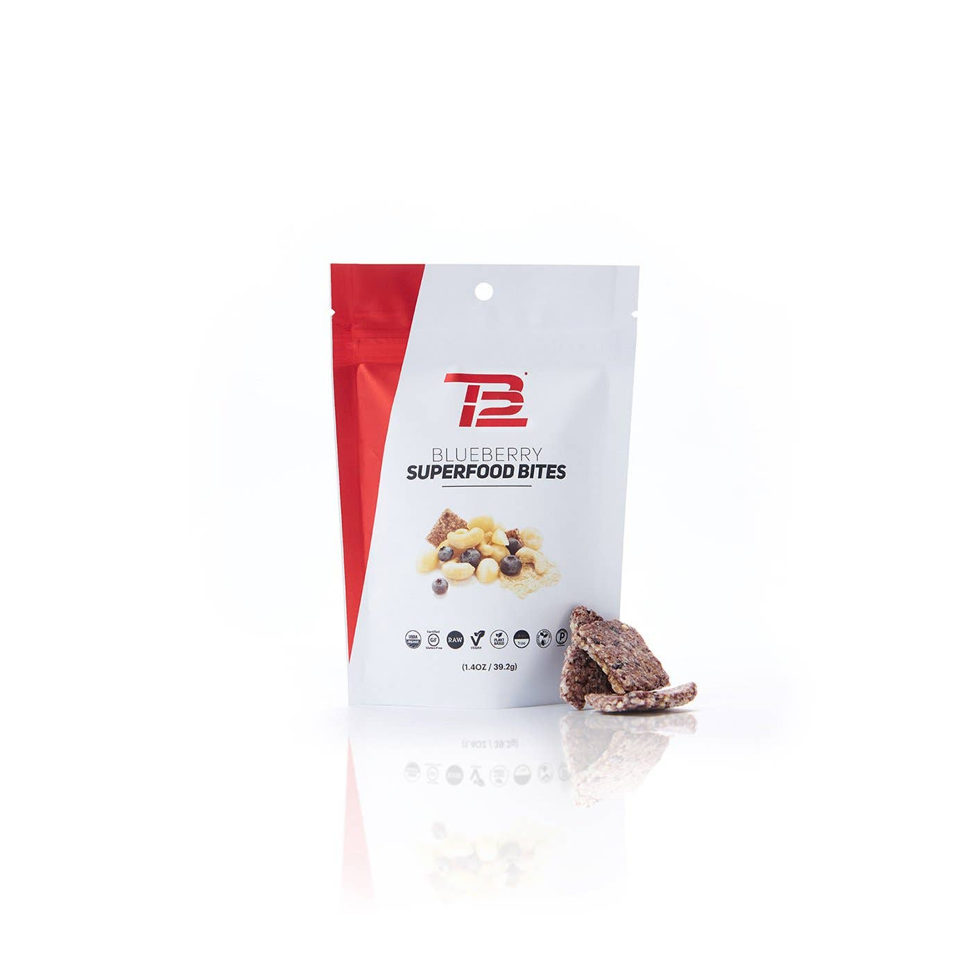 TB12™ Blueberry Superfood Bites front