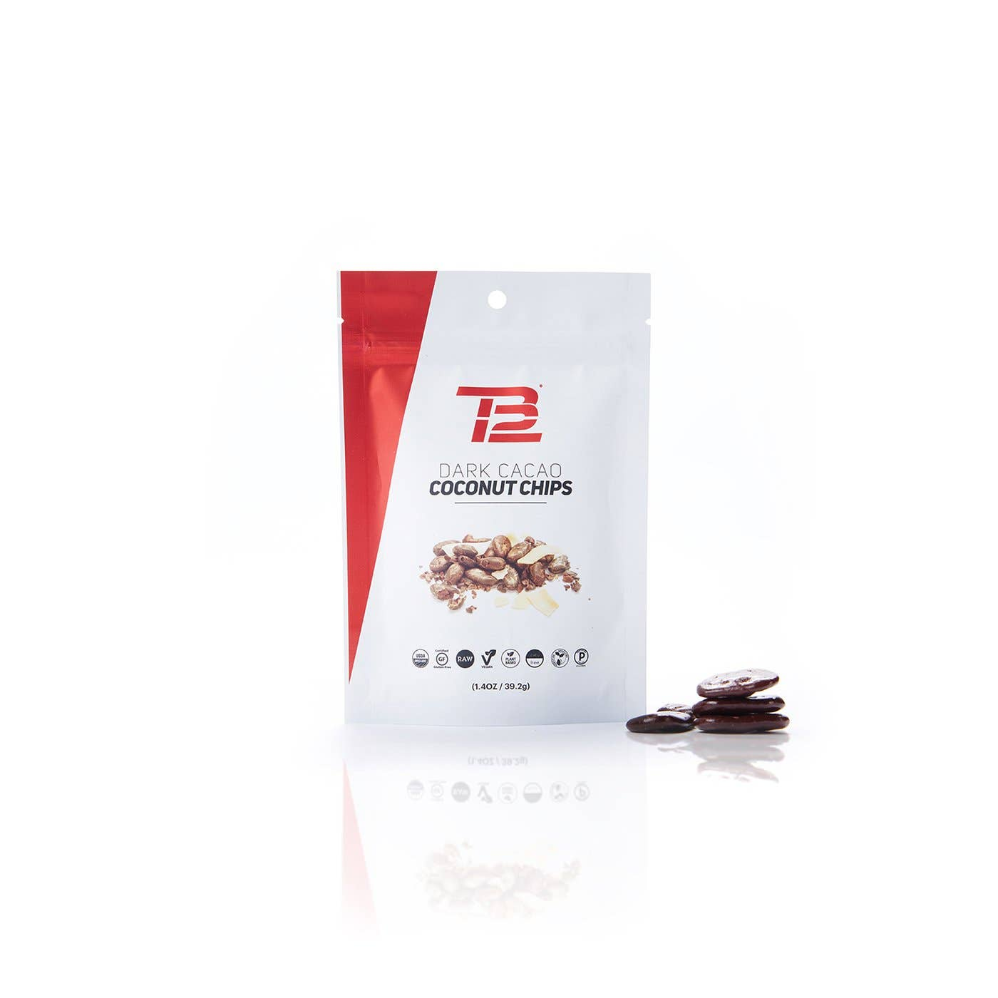 TB12™ Dark Cacao Coconut Chips front