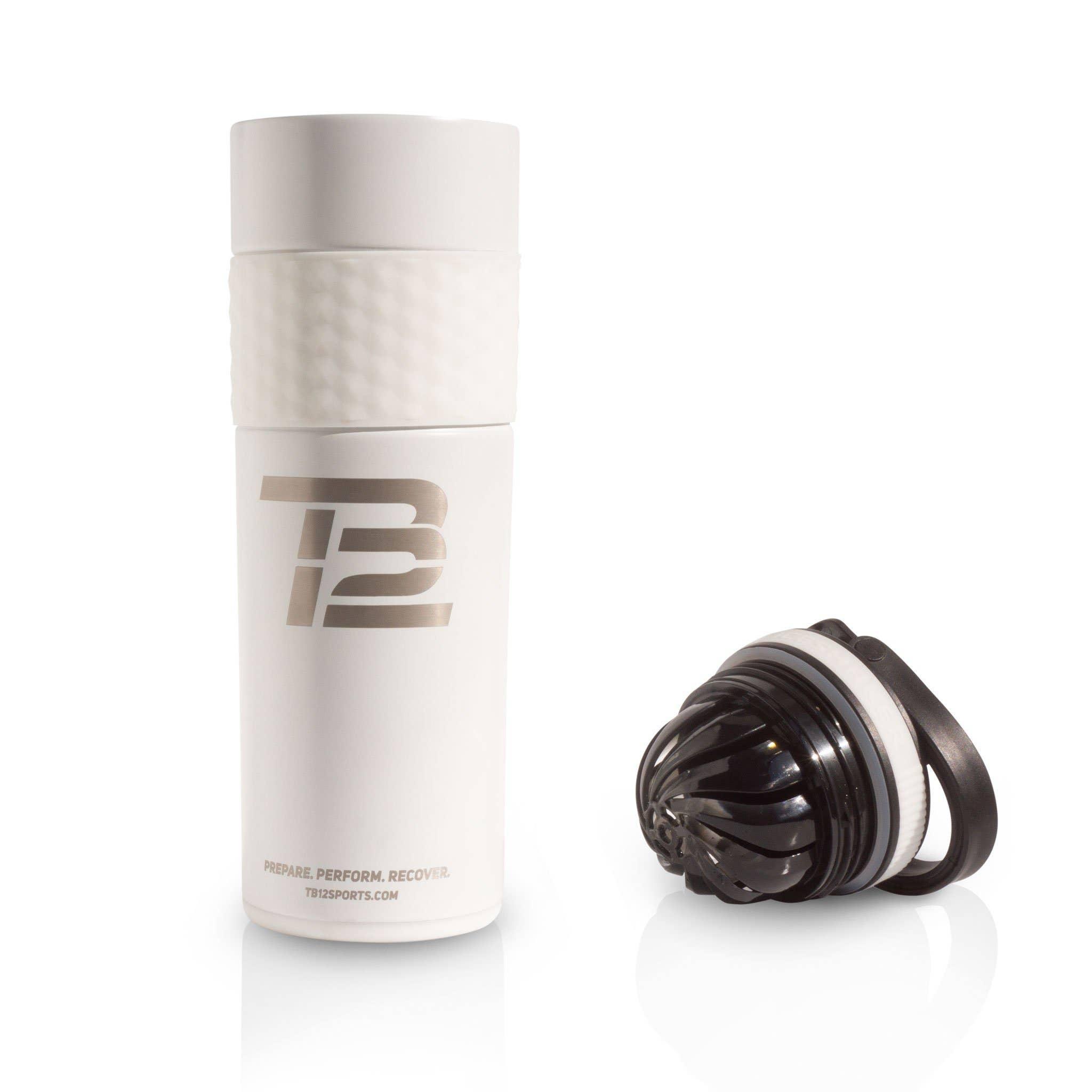 White TB12™ Insulated Skinny Ice Shaker - 20 oz.