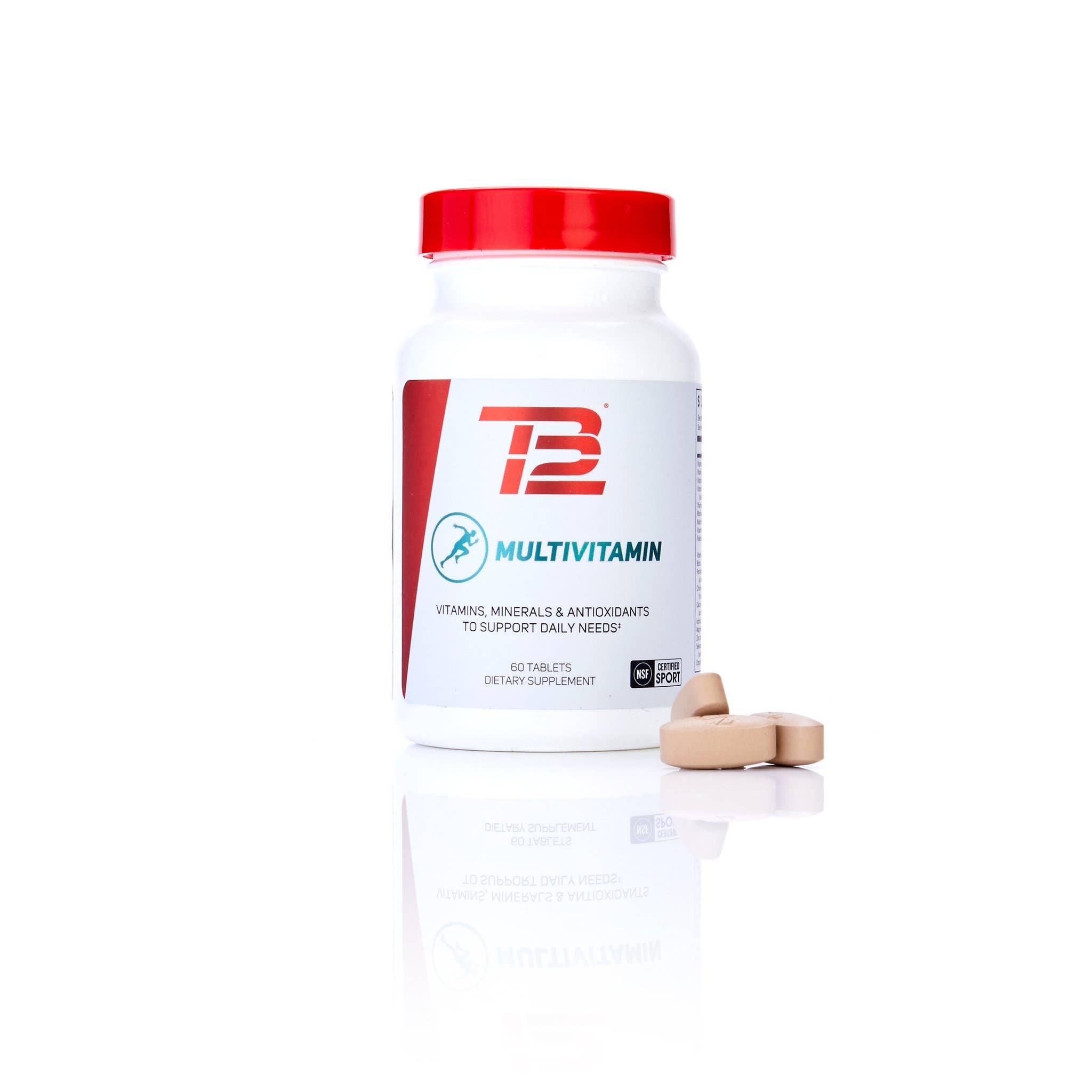 TB12™ Multivitamin Front