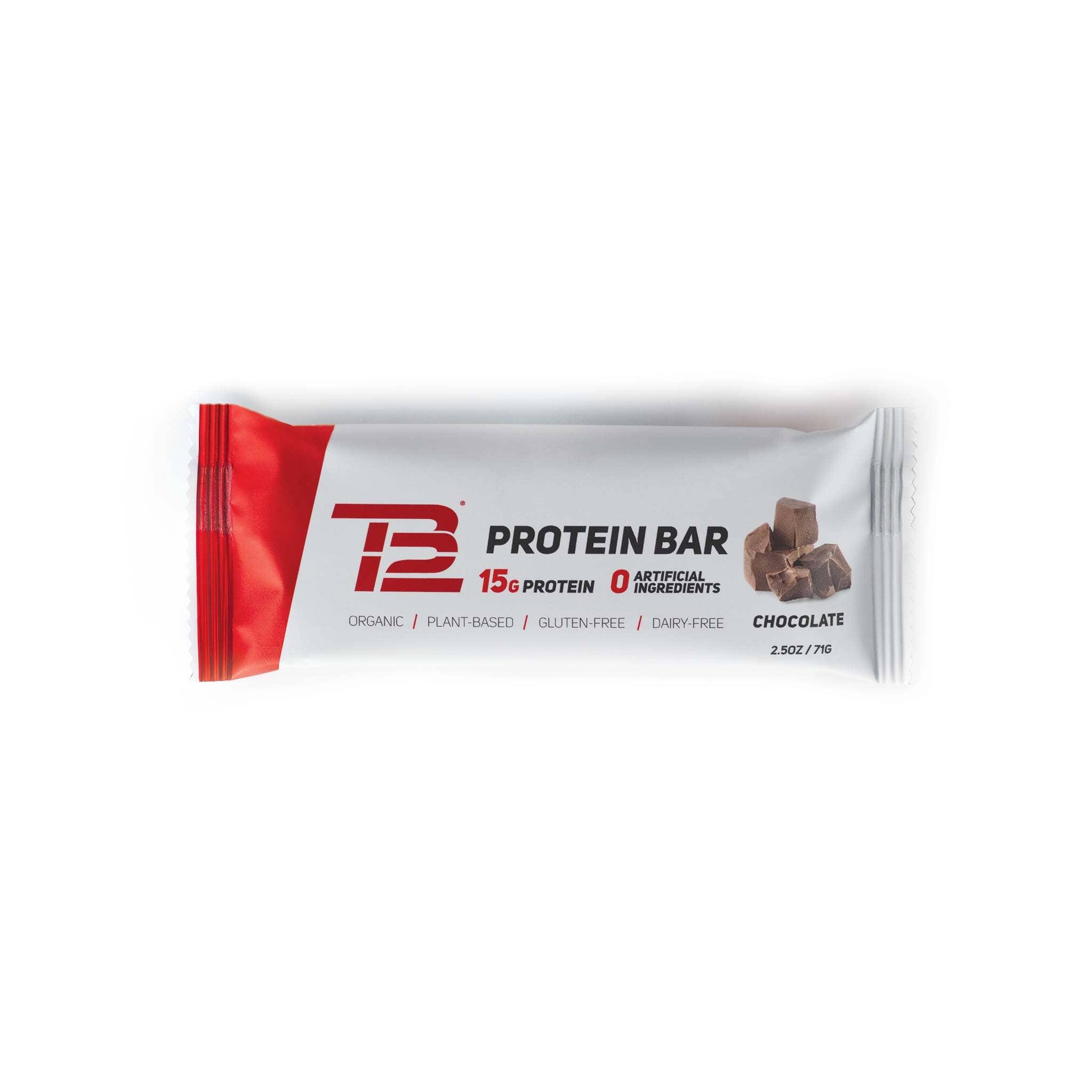 TB12™ Protein Bars (12ct) - Chocolate